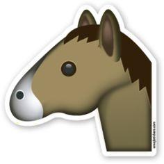Horse Face | Emoji Stickers