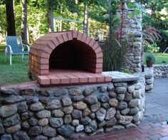 A little brick oven for our kids pizza parties!