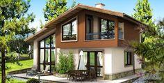 44 ideas for house plans small cottage decks A Frame House Plans, Small House Plans, Style At Home, Architectural Design House Plans, Architecture Design, 3 Storey House Design, Mountain Home Exterior, Hut House, Simple House Design