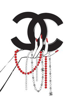 Chanel Jewelry I Canvas Art Print by Martina Pavlova Chanel Decor, Chanel Art, Chanel Jewelry, My Canvas, Canvas Artwork, Canvas Art Prints, Planners, Chanel Wallpapers, Makeup Artist Logo