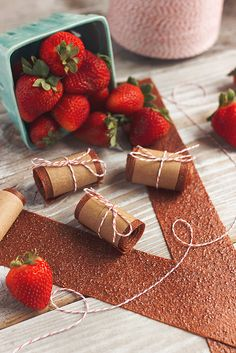 Honey-Sweetened Strawberry Fruit Leather by @TastyYummies