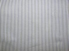 Fabric Navy Ticking stripe medium/heavyweight cotton