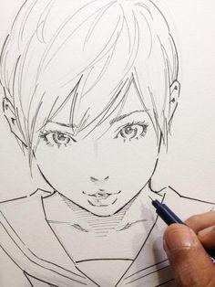 色紙サラサラッ by Eisakusaku