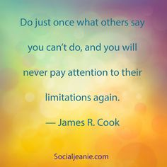 #inspiration #quote from Jean Lanoue, Inspirational Quotes provided by The Social Jeanie an Internet/Inbound marketing agency.