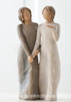 Demdaco Willow Tree Figurines by Susan Lordi: Sisters by Heart and My Sister, My Friend Sister Gifts, Sister Friends, My Friend, Friend Gifts, True Friends, Gay Wedding Cakes, Wedding Cake Toppers, Lesbian Wedding, Wedding Sweets