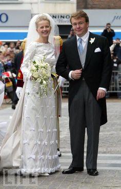Prince Johan Friso and Princess Mabel of the Netherlands