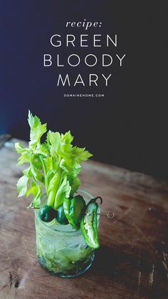 Green Bloody Mary