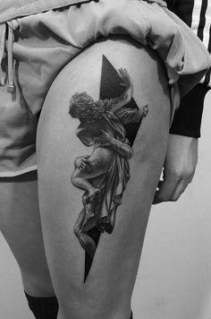 Gian Lorenzo Bernini's The Rape of Proserpina inspired tattoo.