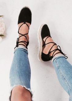 Espadrilles   Shoes   Summer   Inspo   More on fashionchick.nl