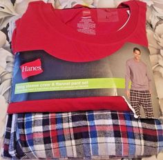 New Hanes long sleeve crew and flannel pant set size large #Hanes #loungesetCheck out New Hanes long sleeve crew and flannel pant set size large #Hanes #loungeset http://www.ebay.com/itm/-/292544621578?roken=cUgayN&soutkn=Iz0d8a via @eBay