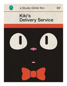 Studio Ghibli's: Kiki's Delivery Service | One of my all-time favourite movies. I need to watch more Studio Ghibli films.