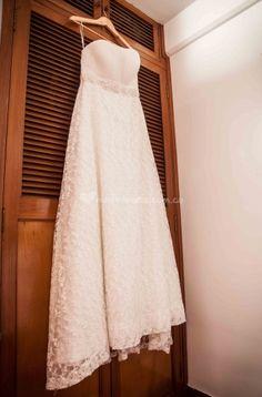 El vestido de Fotonika | www.matrimonio.com.co