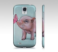 Mini pig phone case for iphone 4/ 4S 5/ 5S samsung by MimoCadeaux