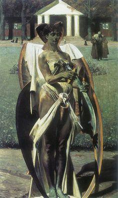 Jacek Malczewski - Thanatos (1898)