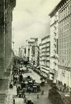Broadway, north from 8th Street, downtown LA | 1913 | Frank W. Staley's Views of Los Angeles