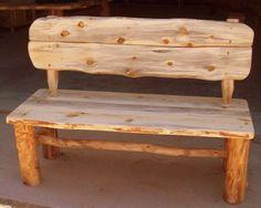 muebles rusticos  banco