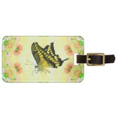 Travel in style with Butterfly luggage tags from Zazzle! Make your tags today! Travel Luggage, Luggage Bags, Butterfly Gifts, One Bag, Summer Of Love, Gift For Lover, Travel Style, Lovers, Tags