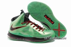 buy online 1774f a2b3c Nike Lebron 10 Green Black Red TopDeals 779900, Price   87.49 - Adidas  Shoes,Adidas Nmd,Superstar,Originals