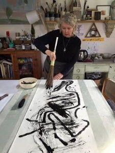 Lorna Crane , Australia, 28 likes Grafik Art, Atelier Creation, High Art, Mark Making, Art Plastique, Art Sketchbook, Art Studios, Painting Techniques, Artist At Work