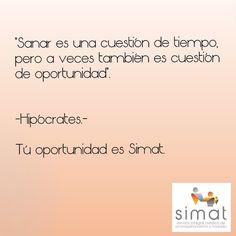 #simat #sanar #salud #vida #acompañamiento #tranquilidad #oportunidad #frases #ecuador #compañía