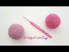 Horgoló iskola 4 amigurumi gömb/Amigurumi school for beginner/English s. Amigurumi Tutorial, Magic Ring, Single Crochet, Crochet Projects, Knit Crochet, Crochet Patterns, Knitting, Blog, Youtube