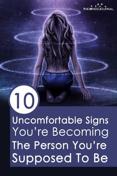As the time goes by, you'll realize that you're actually becoming the person you're meant to be. Here are 10 uncomfortable signs you're becoming the person you're supposed to bet You do every… Spiritual Awakening, Spiritual Quotes, Spiritual Meditation, Spiritual Cleansing, Spiritual Healer, Spiritual Growth, Self Development, Personal Development, Psychic Development