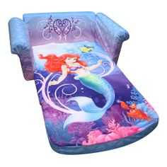 #Disney Little Mermaid Flip Open Sofa $132.00