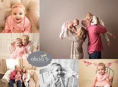 Alicia B Photography Cincinnati Baby Milestone www.aliciabphotography.com