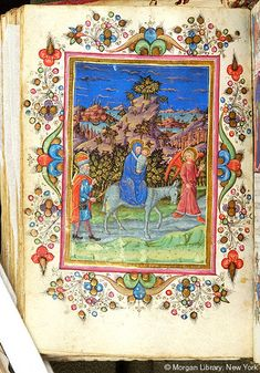 Book of Hours, MS M.1089 fol. 65v - Images from Medieval and Renaissance Manuscripts - The Morgan Library & Museum