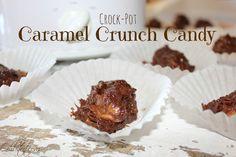 ~Crock-Pot Caramel Crunch Candy! from Oh Bite It