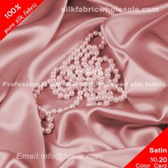 Deep Pink silk charmeuse fabric for women silk wedding dresses. Silk Satin Fabric online in high quality