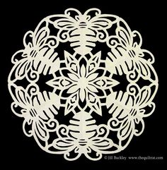 The Quilt Rat: snowflakes