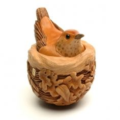 'Nest' - wood art by Susan Wraight (2012)