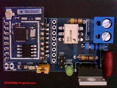 SWITCH MAINS POWER WITH AN ESP8266