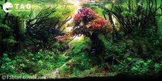 Jungle Aquascape Design by Fabian Kussakawa