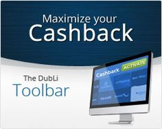 The World's Most Comprehensive Cashback Shopping Mall - DubLiFor All Those Online Shoppers and Travellers !! Install The DubLi Toolbar on Your Browser http://www.dubli.com/T0WW3F7T