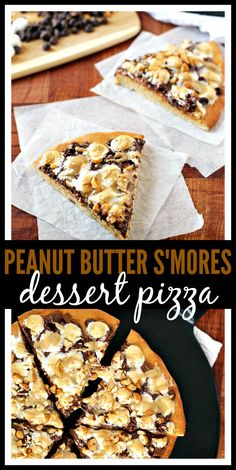 Peanut Butter S'mores Dessert Pizza // Well-Plated