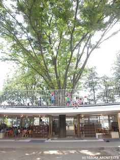 Fuji Kindergarten by Takaharu + Yui Tezuka   SpaceInvading