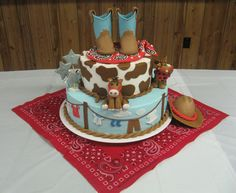 Baby Shower - Baby shower cake for my nephew and his wife