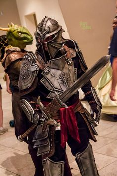 Dragon Age Inquisition Armor at DragonCon Cosplay by SKSProps on deviantART