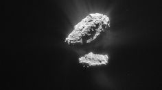 A molecule once thought to be a useful marker for life as we know it has been discovered around a young star and at a comet for the first time, suggesting these ingredients are inherited during the planet-forming phase.  The discovery of methyl chloride was made by ESA's Rosetta spacecraft following Comet 67P/Churyumov–Gerasimenko. It is the simplest member of a class of molecules known as organohalogens, which contain halogens.