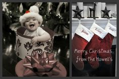 Christmas Card idea with our stockings