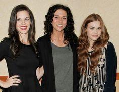 Haley Webb, Melissa Ponzio and Holland Roden #TeenWolf