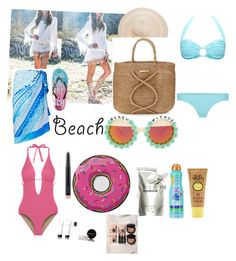 """""""summerdate"""" by rose-ganda on Polyvore featuring Aéropostale, Gottex, ViX, Rad+Refined, Cosabella, MAC Cosmetics, Melissa Odabash, Round Towel Co., Prtty Peaushun and Kiss My Face"""