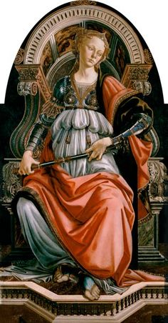 Titulo de la imágen Sandro Botticelli - Fortitudo
