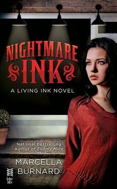 Book Review: Nightmare Ink (Living Ink #1) by Marcella Burnard | I Smell Sheep
