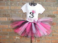 Zebra Tutus for Girls | Tutu Size: Select 0-3M 3-6M 6-12M 12-18M 18-24M 2T/3T 4T/5T