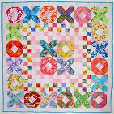 Hugs and Kisses for Baby - Free Pattern - Baby Quilt For Allegra by Cindy's Quilts, via Flickr