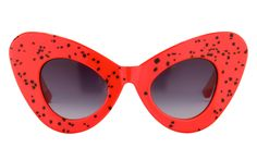 #60s are one of the main inspirations for this #aw14 season runway shows!  Jeremy Scott Cat Eye C5 Sunglasses | sunglasscurator.com