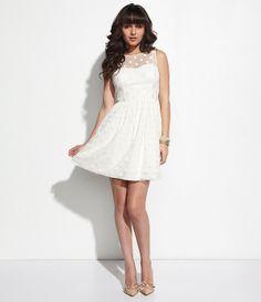 Jill Jill Stuart Polka-Dot Mesh Dress | Dillards.com